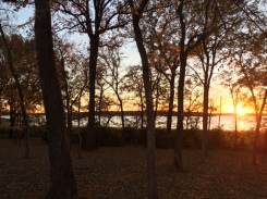 fairfield-lake-park-sunset