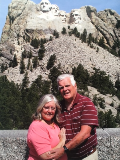 Us at Mount Rushmore