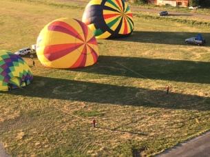 Balloons at Driggs Balloon Rally