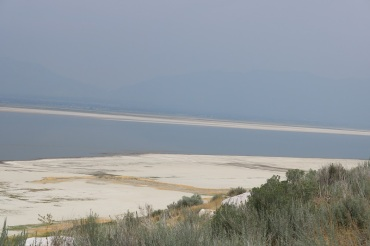 Great Salt Lake from Antelope Island