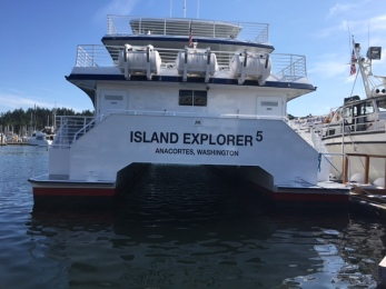Whale Watching Ship - Island Explorer 5