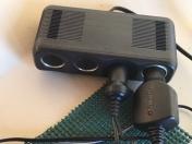 Multi-Port Cigarette Adapter