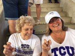 Mom and Elaine Iron Skillet Game