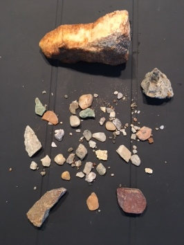 Rocks from Crater of Diamonds