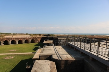 Fort Morgan View from the Wall