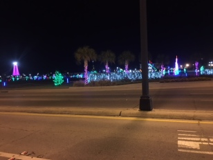 Gulfport Jones Park Christmas Lights Display